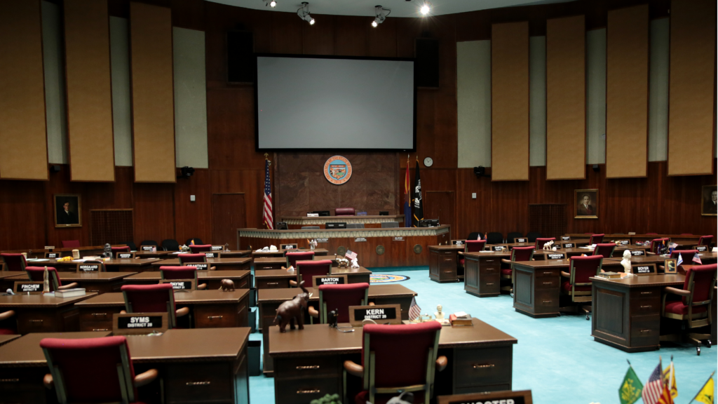 Floor of the AZ House of Representatives - photo by Gage Skidmore
